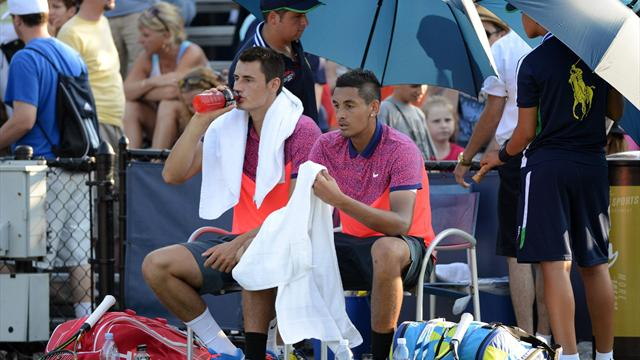 Kyrgios: Don't 'lump me in' with Tomic..he's lost his way