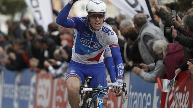Paris-Nice, 1re étape : Arnaud Démare coiffe Swift et Bouhanni