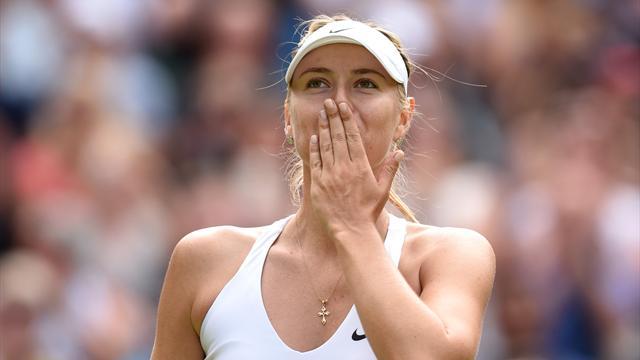 Sharapova de retour à la fin avril