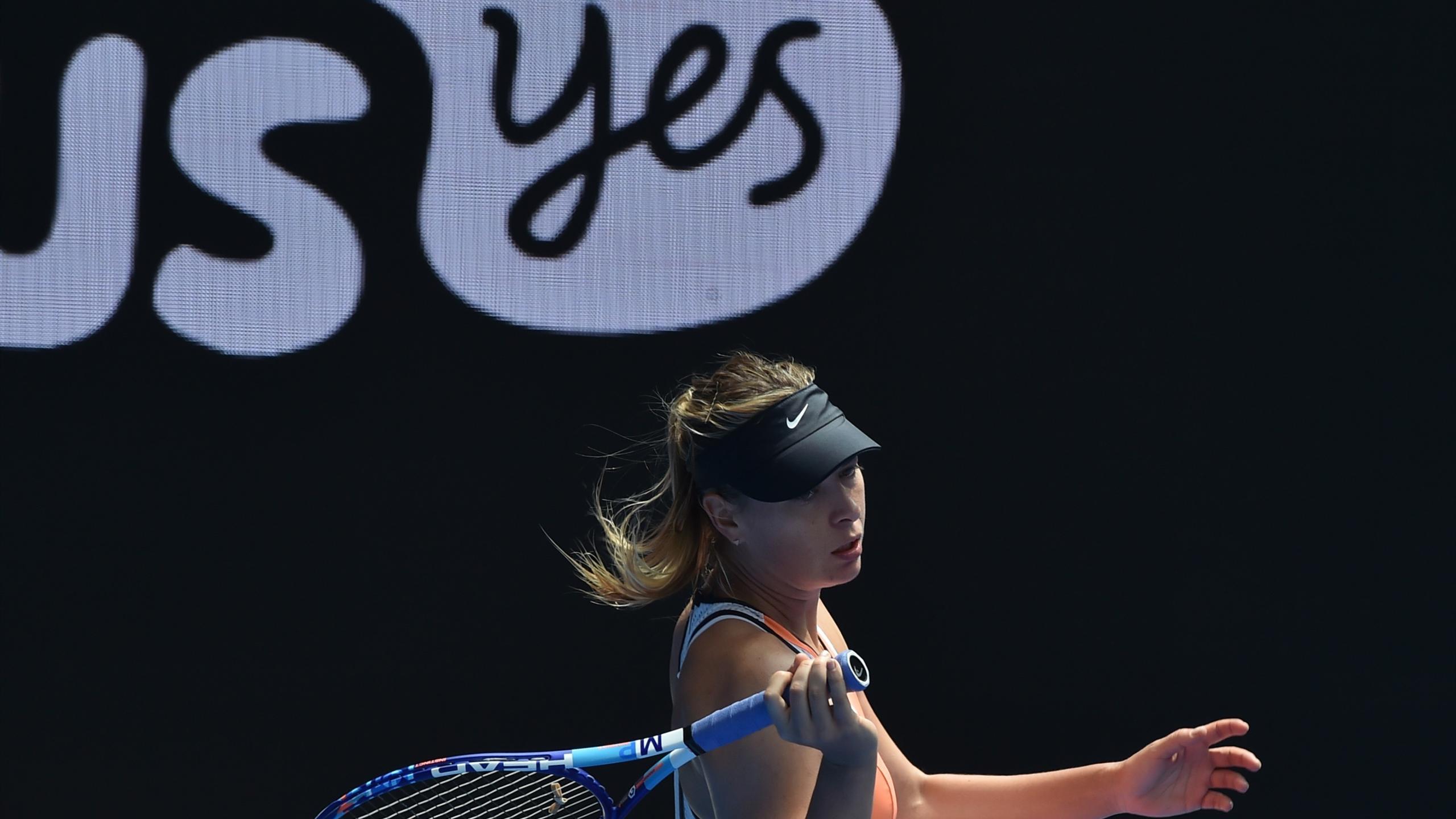 Maria Sharapova lors de l'Open d'Australie 2016
