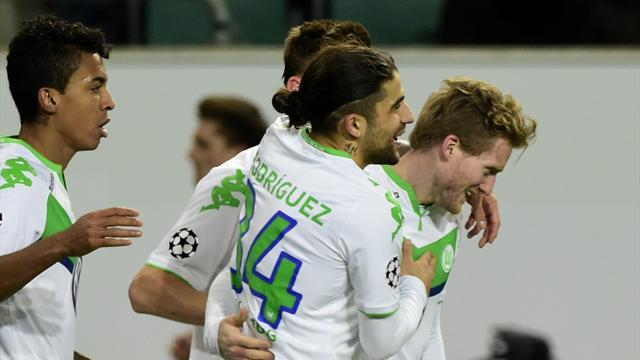 Wolfsburg a fini le travail et va découvrir les quarts de la C1