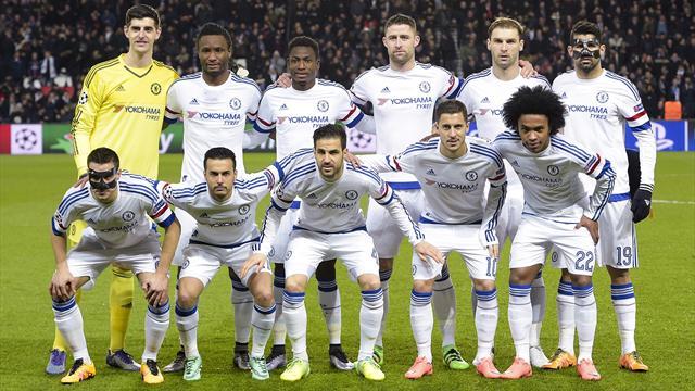 Chelsea : vers le même onze qu'à l'aller ?