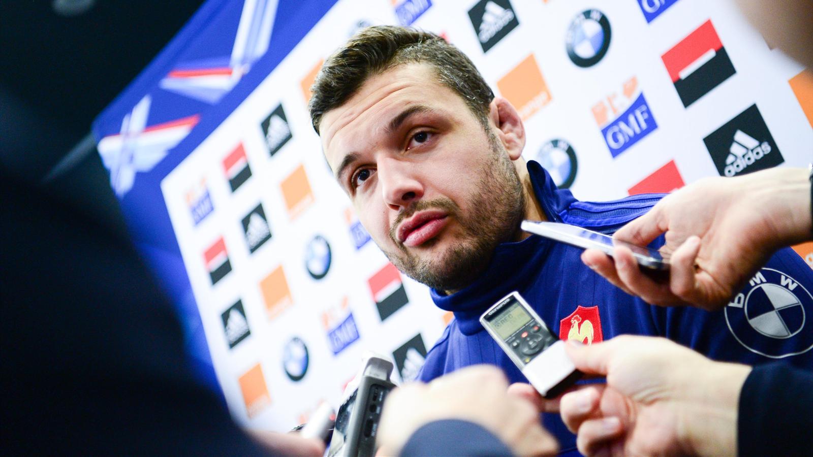 Damien Chouly (XV de France) - 8 mars 2016