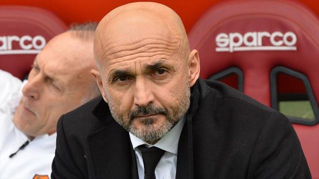 """Spalletti : """"La réalité, c'est que la Roma a mal joué lors des deux matches"""""""