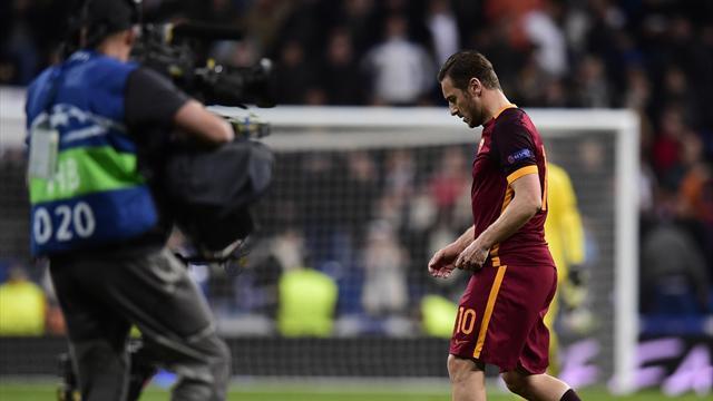 Le retour de Totti n'a pas suffi : la Roma laisse filer des points face à Bologne