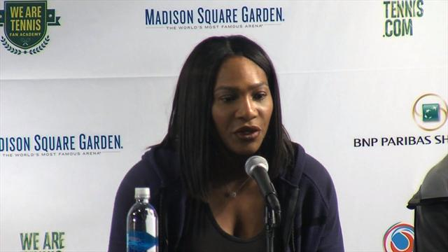 "Serena Williams : ""Maria Sharapova s'est montrée très courageuse"""