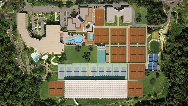 Visitez la future Mouratoglou Tennis academy, comme si vous y étiez