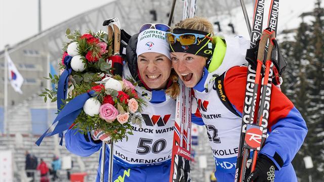 Dorin-Habert en or, Bescond en argent : le biathlon français est irrésistible