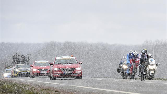 La Course au soleil sous la neige, la 3e étape annulée