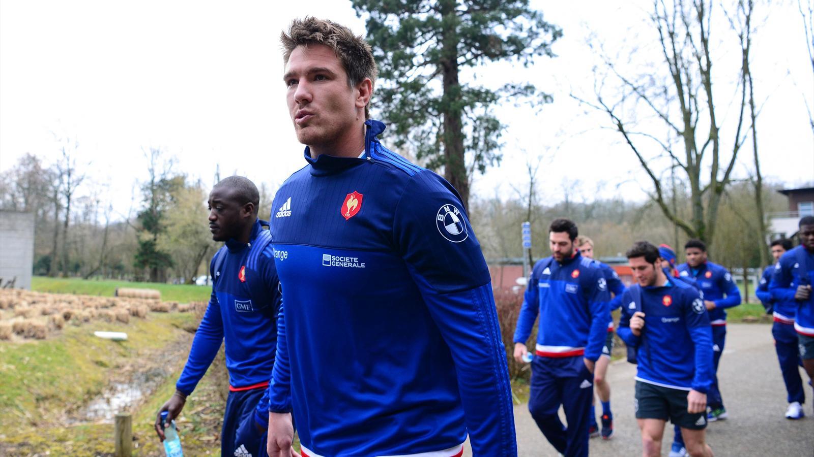 Bernard Le Roux et Djibril Camara (XV de France) - 8 mars 2016
