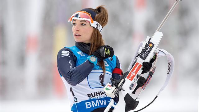 Kaisa Mäkäräinen domina la gara sprint: Dorothea Wierer è quinta