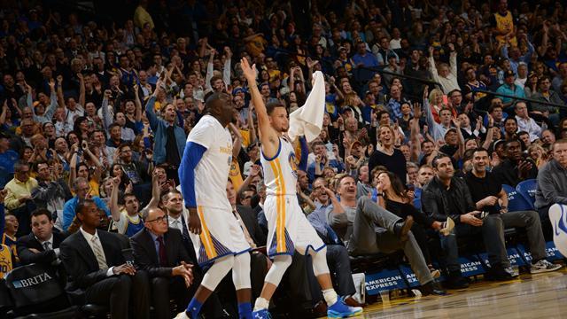 Les Warriors se vengent, Durant rejoint Jordan et Chamberlain : ce qu'il faut retenir de la nuit