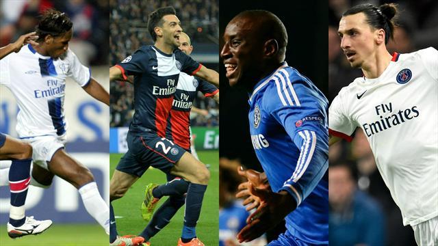 Le doublé de Drogba, le festival Pastore, Ibrahimovic... : les 10 grands moments des PSG-Chelsea