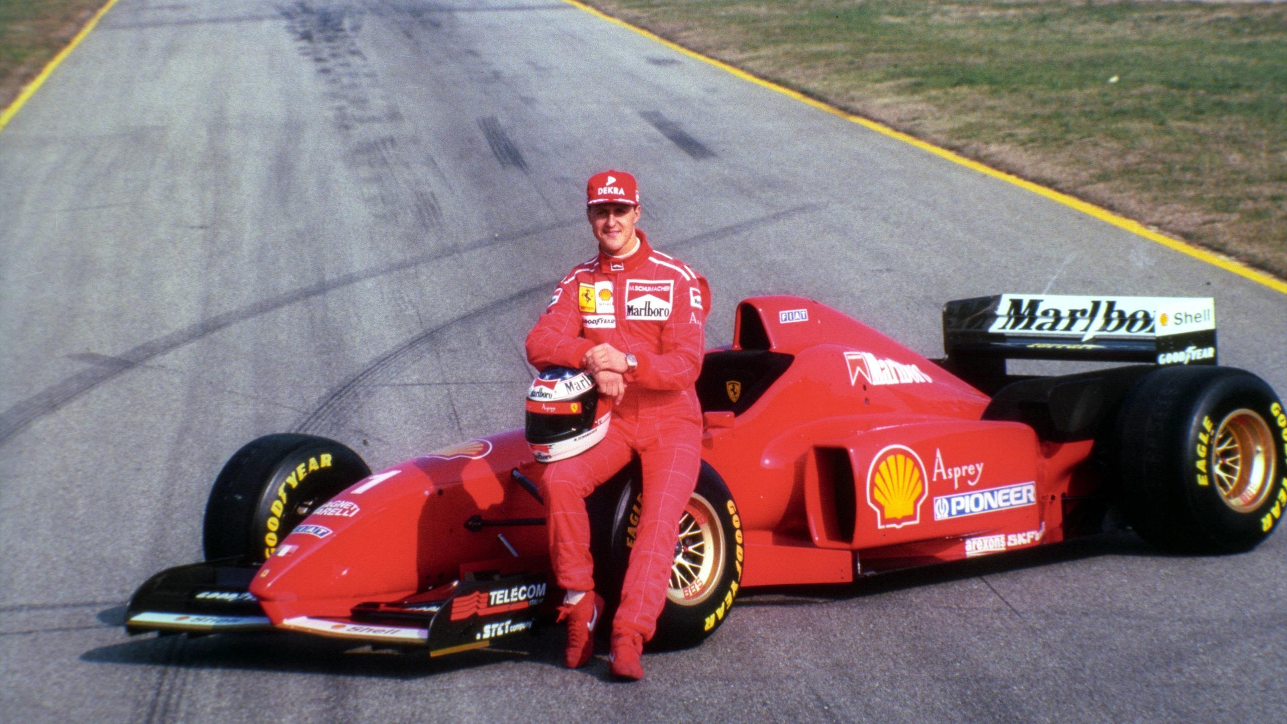 1996, Michael Schumacher, Ferrari (imago)