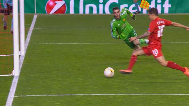 Le sauvetage dingue de De Gea sur sa ligne face à Coutinho