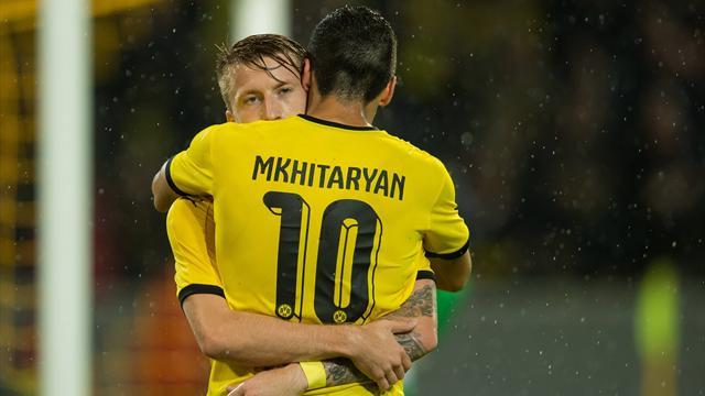 Dortmund a pris son temps mais reste dans la course