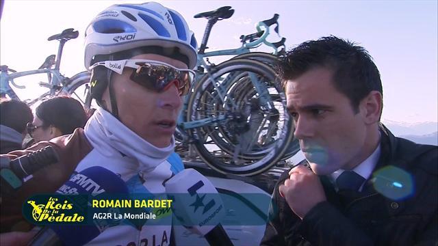 """""""J'ai mal couru"""", """"manque de lucidité"""" : Romain Bardet n'est pas content de lui"""