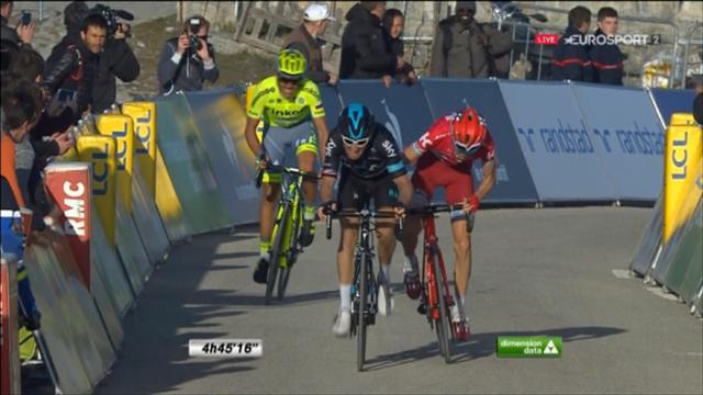 Comment Zakarin a réglé Thomas et Contador : l'arrivée de la 6e étape