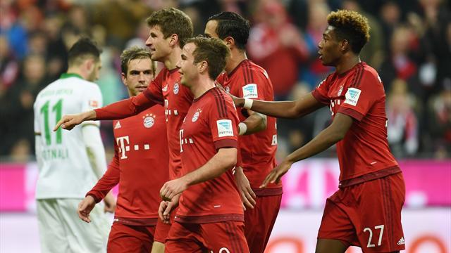 Le Bayern prépare au mieux son retour contre la Juve en corrigeant Brême