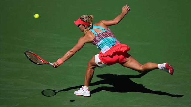 Kerber, Murguruza, Wozniacki : les têtes de série tombent en Californie