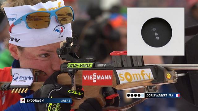 Avec son 20/20 au tir, Dorin-Habert a écœuré la concurrence : sa course victorieuse en vidéo