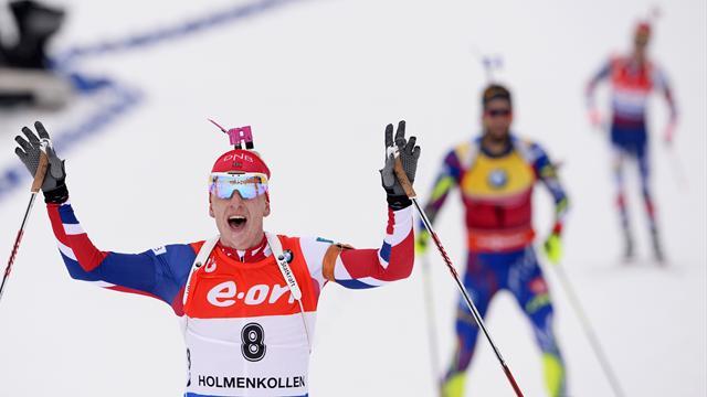 DSV-Biathleten verpassen Top 10 in Oslo - Bö schlägt Fourcade