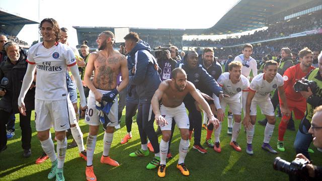 Un record de plus pour le PSG: 9-0 à l'extérieur, c'était du jamais vu dans l'histoire de la L1