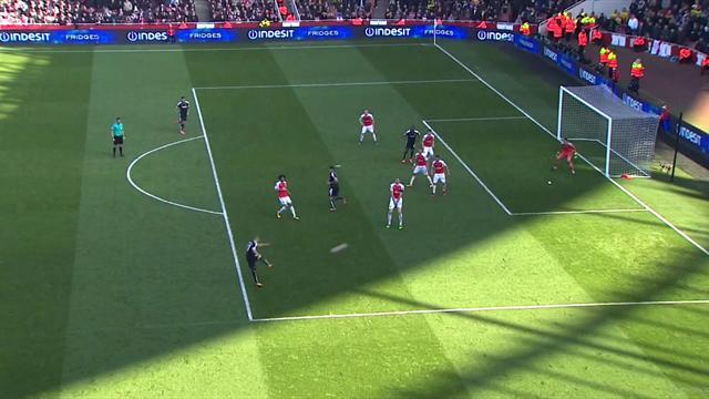 Si Arsenal a chuté, c'est notamment à cause de cette frappe fantastique de Guedioura