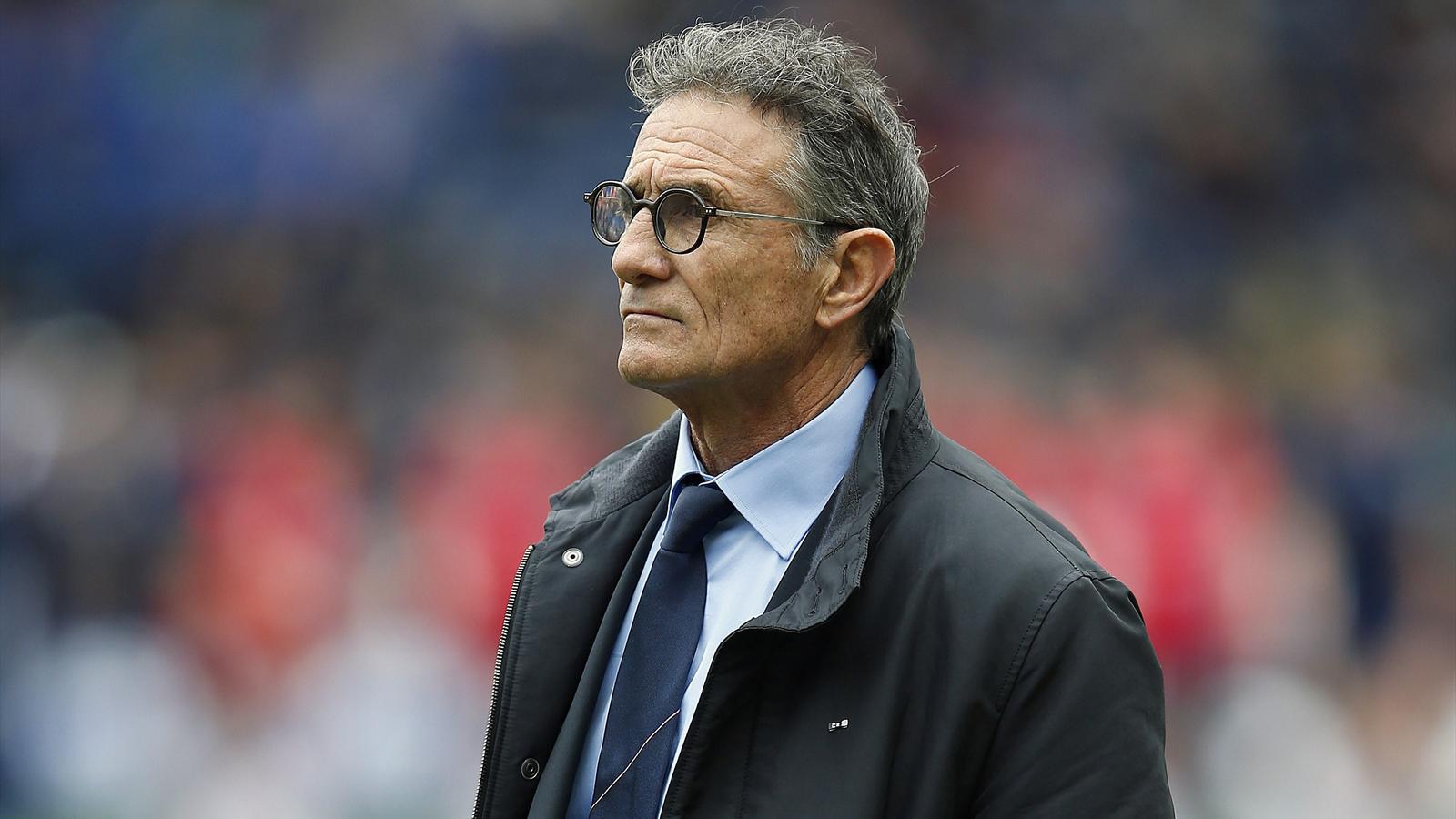 Guy Novès, le sélectionneur du XV de France - 13 mars 2016