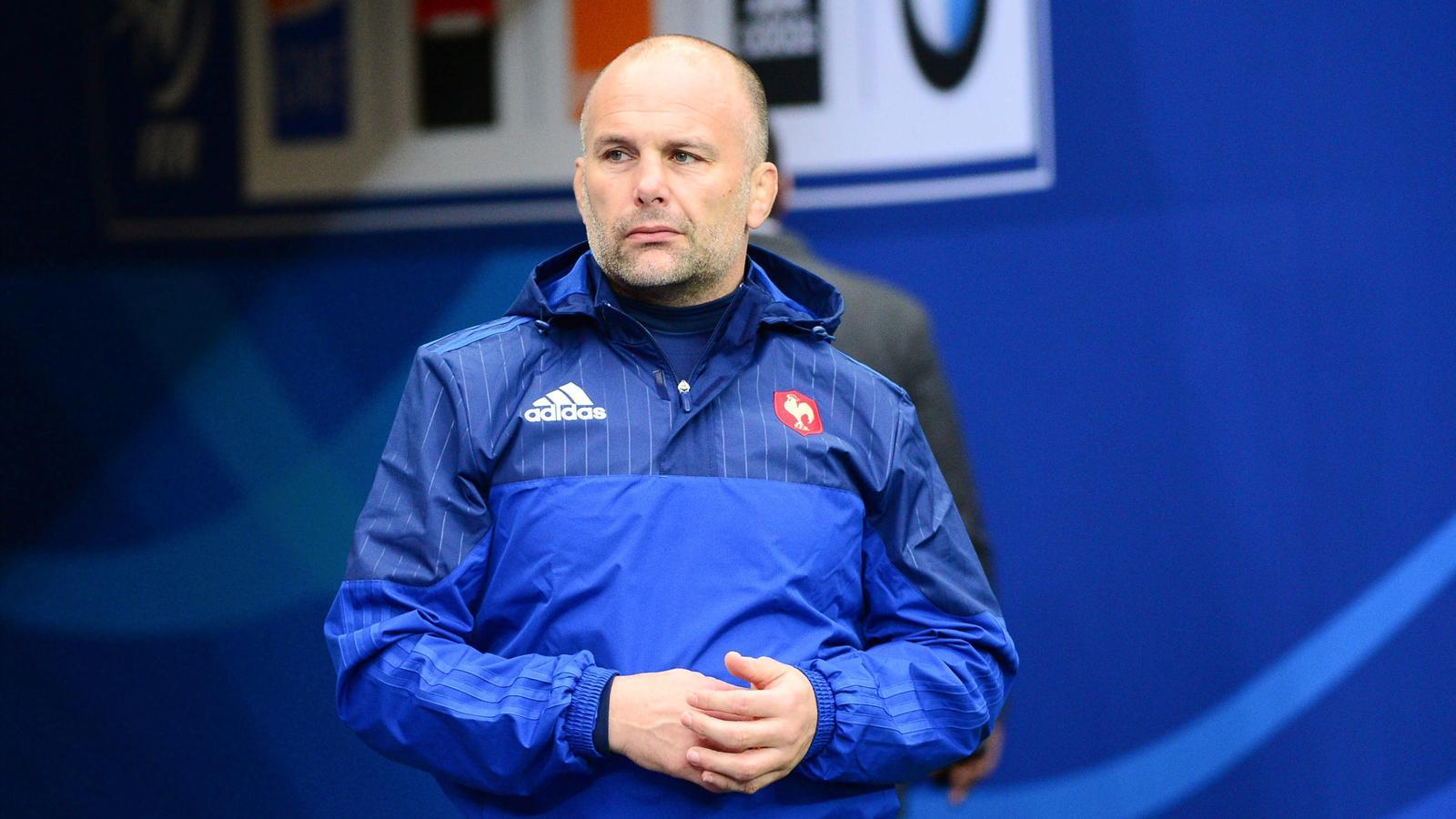 Yannick Bru, entraîneur des avants du XV de France