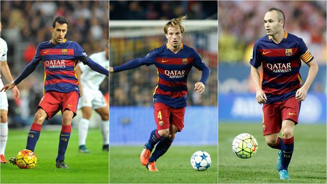 Busquets-Rakitic-Iniesta, l'autre trio indispensable au Barça