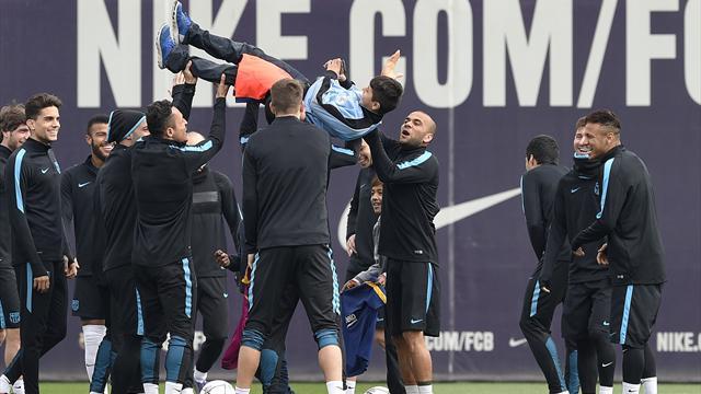Le Barça a préparé son match contre Arsenal face à... des enfants