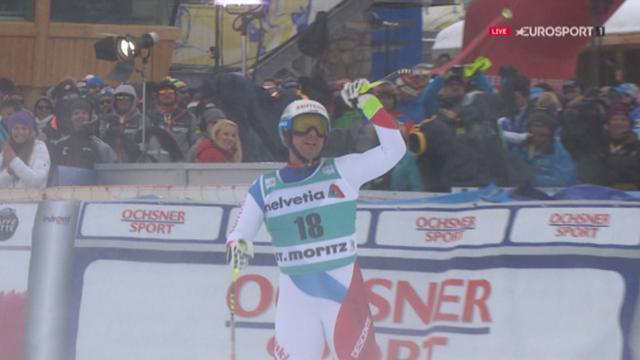 Beat Feuz vince la discesa libera di St.Moritz