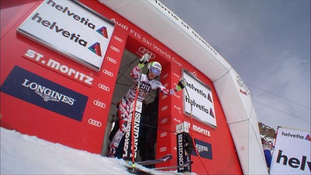 Mirjam Puchner vince la discesa di St.Moritz: non era mai salita sul podio