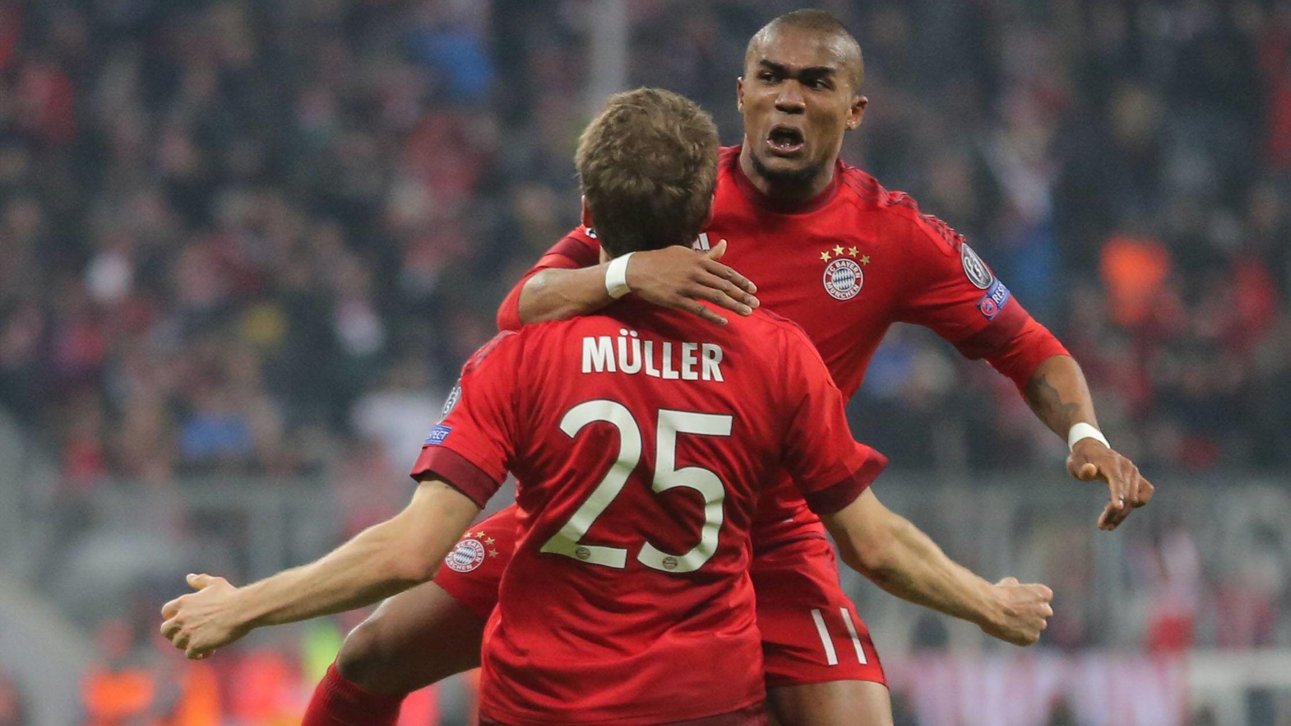 Thomas Müller, Douglas Costa - Bayern v Juventus - Champions League 2016