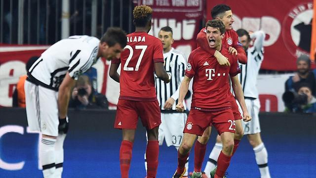 Un Bayern renversant met la Juve à genoux