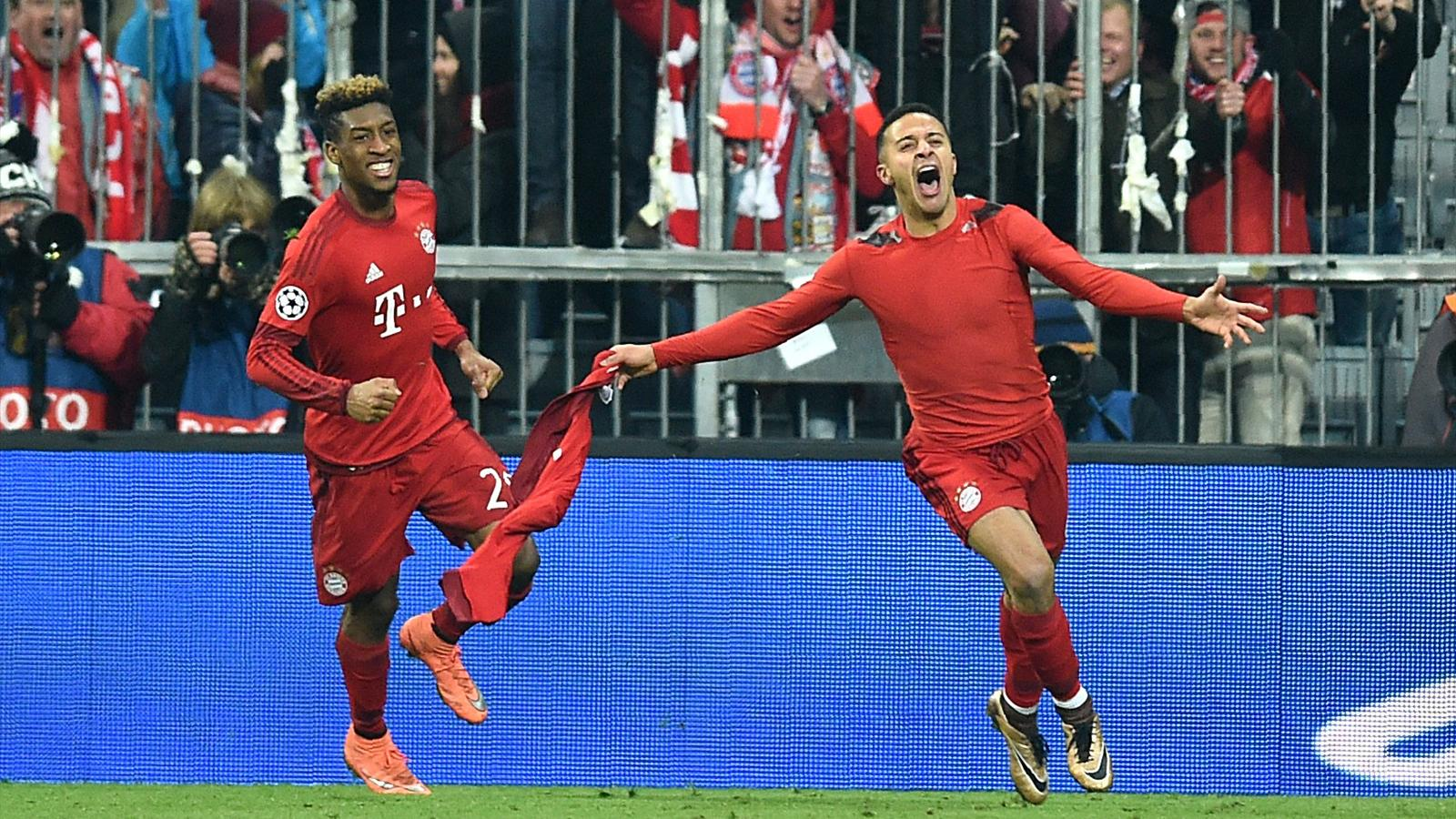 Bayern Munich come from two behind to beat Juventus and keep