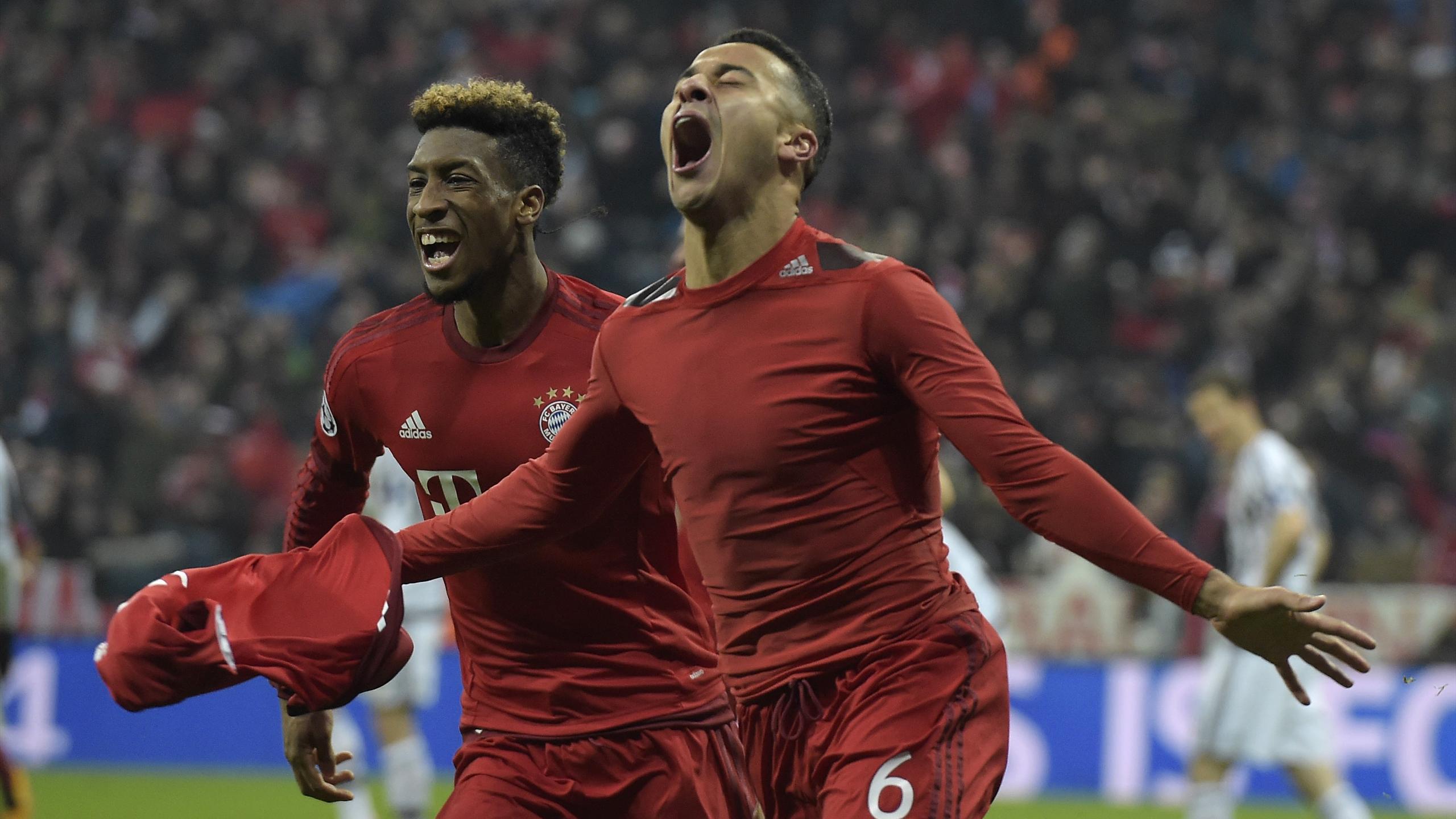 Coman, Thiago - Bayern v Juventus - Champions League 2016