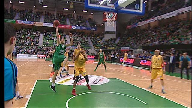 Gran Canaria overcome Zielona Gora in quarter-final first leg