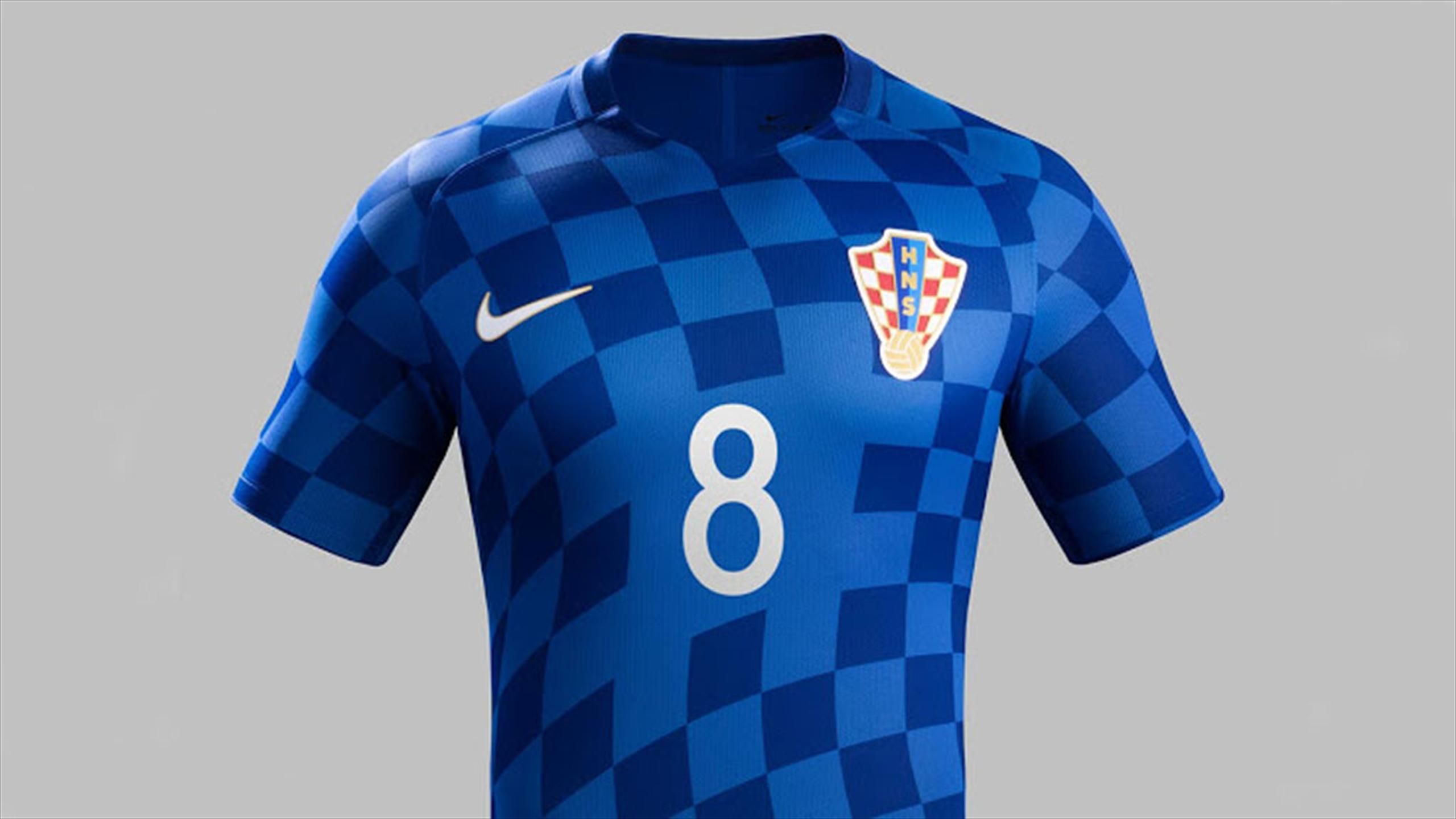 Maillot equipe de croatie Tenue de match