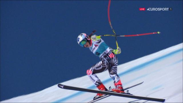 Weirather beats Gut in final Super-G race