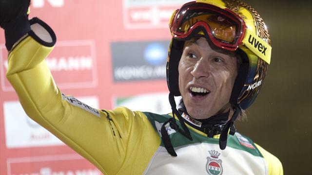 Mit goldener Startnummer: Kasai absolviert 500. Wettkampf