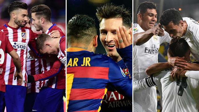 Heißer Dreikampf: Das spricht für Barca, Atlético und Real
