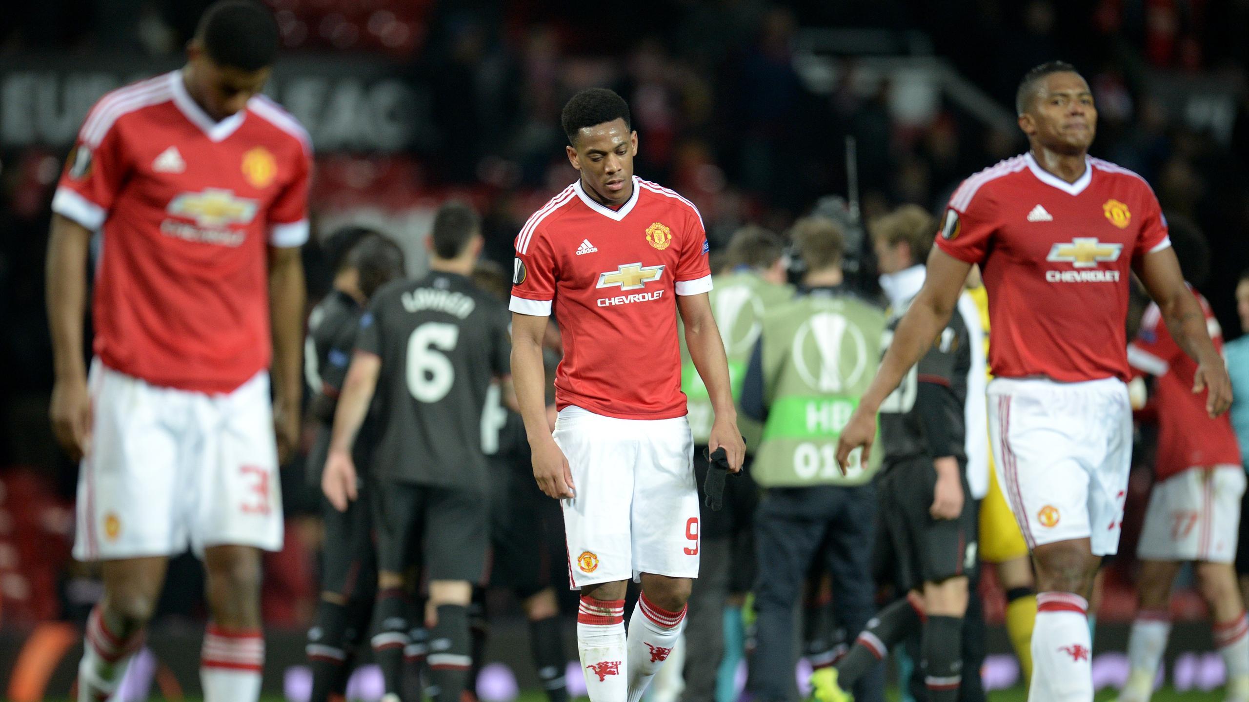 Les joueurs de Manchester United