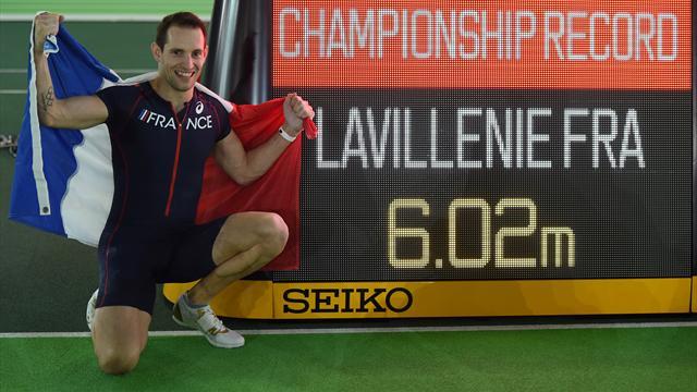 Le titre et un (autre) record : Lavillenie a survolé les débats