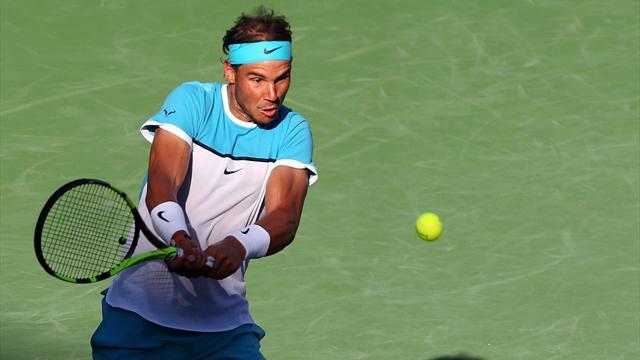 Contre Nishikori, Nadal a sorti le grand jeu
