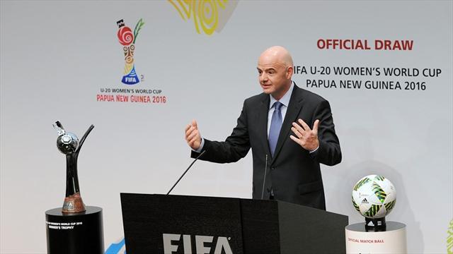 Инфантино хочет количество команд на чемпионате мира до 40