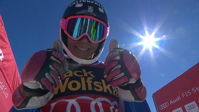 Frida Hansdotter legittima la coppa di specialità: terza nello slalom