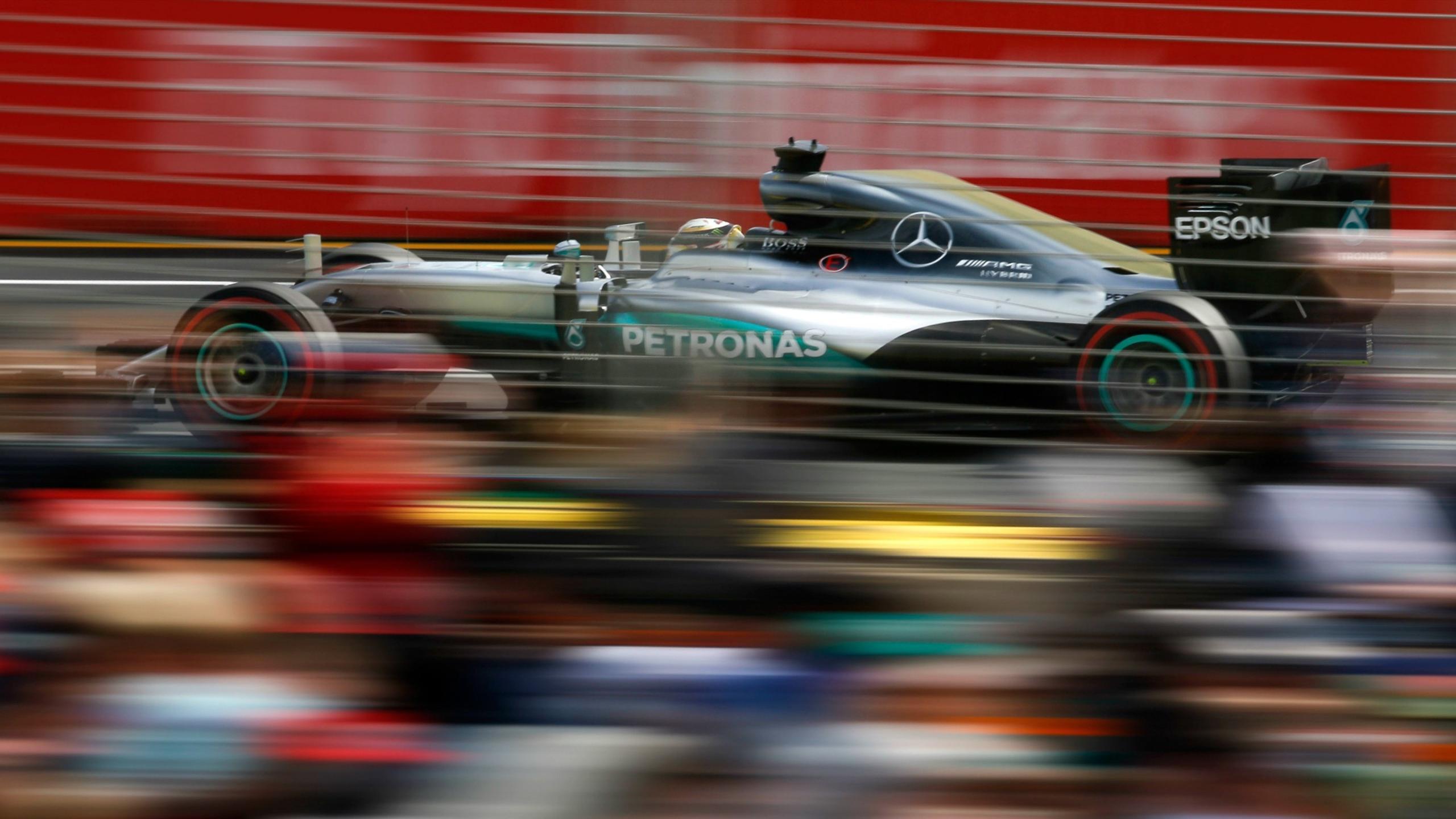 Lewis Hamilton (Mercedes) au Grand Prix d'Australie 2016