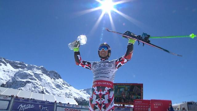 Podio tutto francese a St. Moritz: Fanara, Pinturault e Faivre
